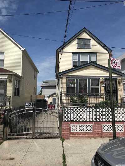 Flushing Multi Family Home For Sale: 57-44 134th St