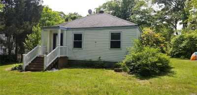 Centereach Single Family Home For Sale: 104 Rustic Rd