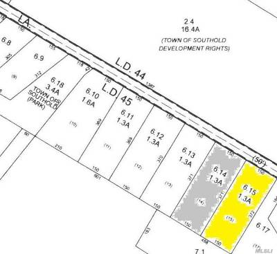 Cutchogue Residential Lots & Land For Sale: 5495 Bridge Ln