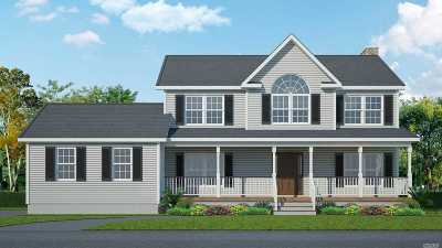 Calverton Single Family Home For Sale: Lot 53 Kay Rd