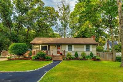 Lake Ronkonkoma Single Family Home For Sale: 121 Midland Blvd