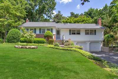 Hauppauge Single Family Home For Sale: 35 Butterfly Dr