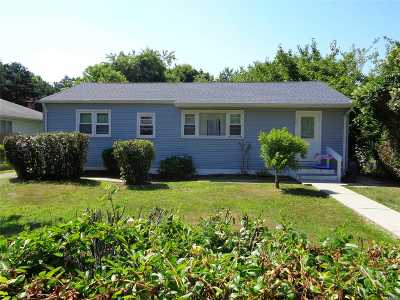 Suffolk County Single Family Home For Sale: 50 Gordon Ave
