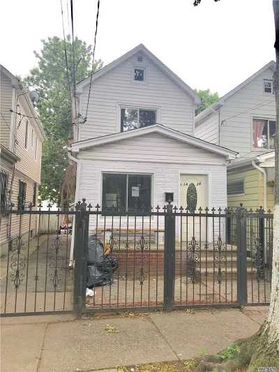 Queens County Single Family Home For Sale: 114-28 148th St