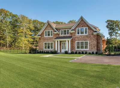 Southampton Single Family Home For Sale: 252 Millstone Brook Rd