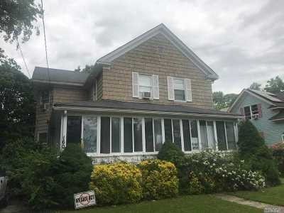 Sayville Single Family Home For Sale: 160 Lincoln Ave