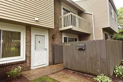 Holbrook Condo/Townhouse For Sale: 228 Springmeadow Dr #E