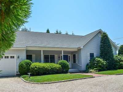 Cutchogue Single Family Home For Sale: 170 Cedars Rd