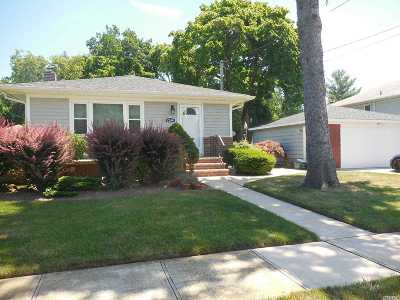 Bellmore Single Family Home For Sale: 2364 Cleveland St