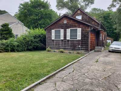 Centereach Single Family Home For Sale: 137 Wood Rd