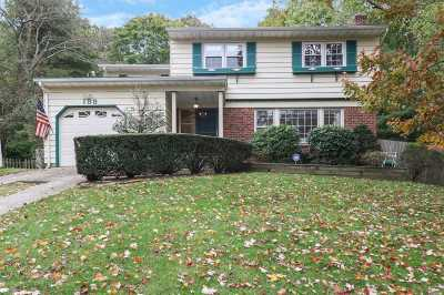 Hauppauge Single Family Home For Sale: 188 Atlantic Pl