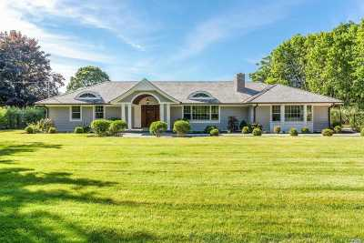 Water Mill Single Family Home For Sale: 392 Montauk Highway