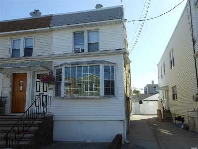 Middle Village Multi Family Home For Sale: 66-15 74th St