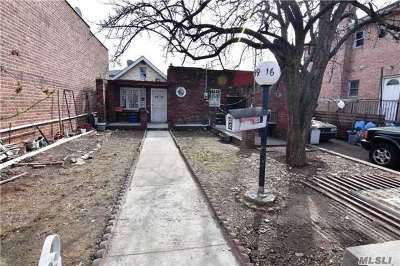 Single Family Home For Sale: 99-16 23rd Ave