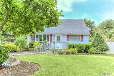 Centereach Single Family Home For Sale: 153 Stanley Dr