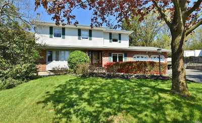 Hauppauge NY Single Family Home For Sale: $619,000
