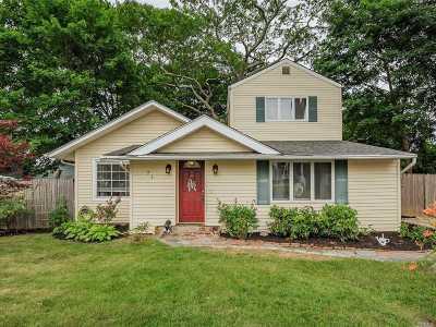 Ronkonkoma Single Family Home For Sale: 71 Lake Shore Dr