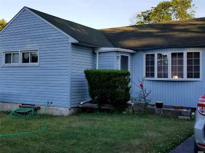 Central Islip  Single Family Home For Sale: 4 Birch St
