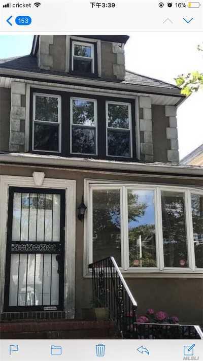 Forest Hills Single Family Home For Sale: 68-48 Nansen St