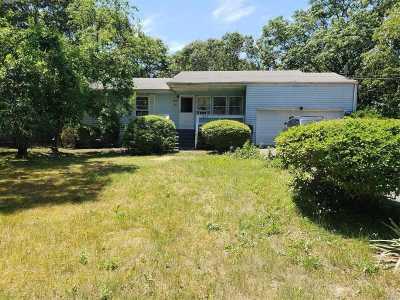 Centereach Single Family Home For Sale: 236 N Washington Ave