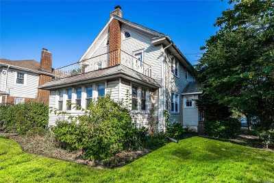 Cedarhurst Single Family Home For Sale: 370 Roselle Ave