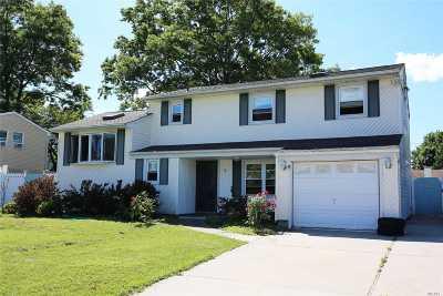 Centereach Single Family Home For Sale: 18 Monterey Ln