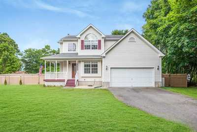 Manorville Single Family Home For Sale: 503 Weeks Ave