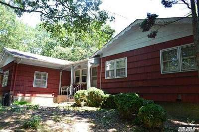 Middle Island Single Family Home For Sale: 85 Rocky Point Rd