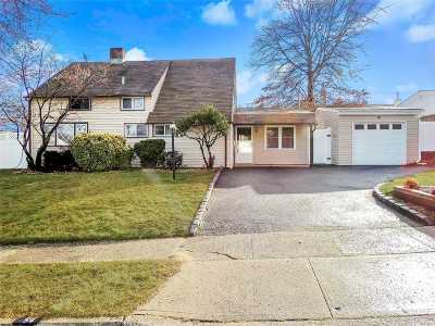 Levittown Single Family Home For Sale: 54 Robin Ln