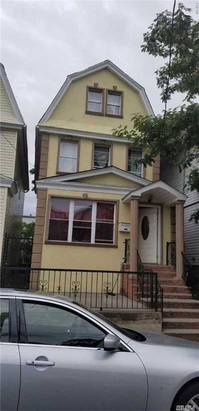 Woodhaven Single Family Home For Sale: 89-24 89th St