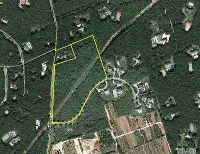 Water Mill Residential Lots & Land For Sale: 1449 Deerfield Rd