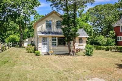 Mattituck Single Family Home For Sale: 11485 Sound Ave