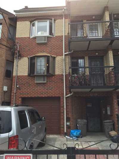 Elmhurst Multi Family Home For Sale: 52-12 94th St