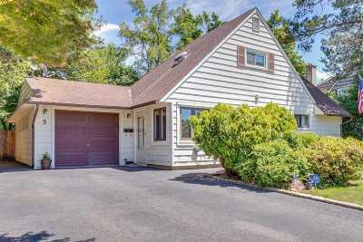 Hicksville Single Family Home For Sale: 5 Ball Park Ln