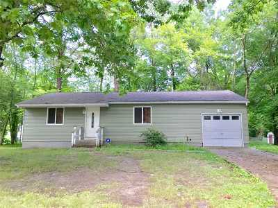 Middle Island Single Family Home For Sale: 1 Gray Ave