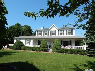 Wading River Single Family Home For Sale: 1 Deerfield Dr