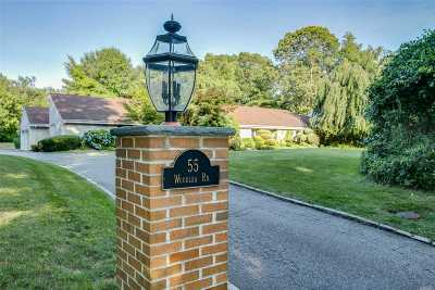 Muttontown Single Family Home For Sale: 55 Woodlea Rd