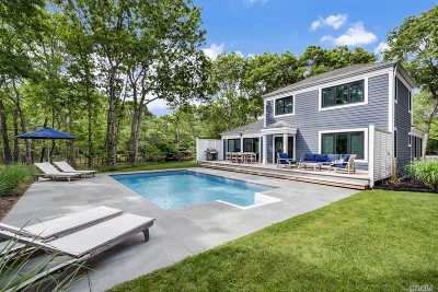 Bridgehampton Single Family Home For Sale: 56 Woodruff Ln