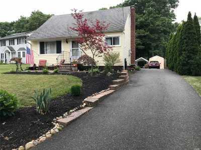 Centereach Single Family Home For Sale: 114 Holbrook Rd