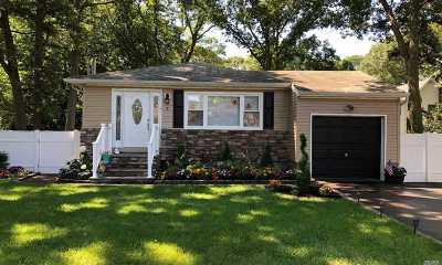 Centereach Single Family Home For Sale: 4 Harriet St