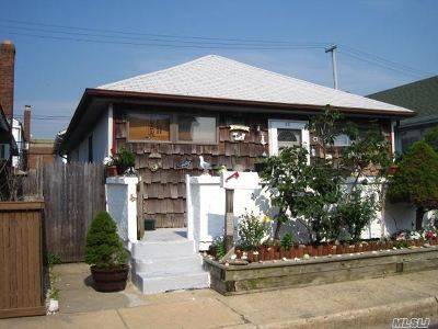 Long Beach NY Single Family Home For Sale: $495,000