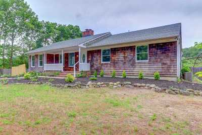 Center Moriches Single Family Home For Sale: 176 Brookfield Ave
