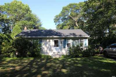Hampton Bays Single Family Home For Sale: 11 Hampton Bays Dr
