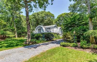 Cutchogue Single Family Home For Sale: 1405 Wunneweta Rd