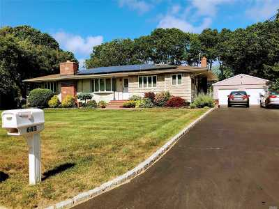 Bohemia Single Family Home For Sale: 643 Sycamore Ave