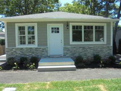 Ronkonkoma Single Family Home For Sale: 2268 Motor Pky