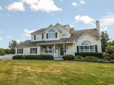 Manorville Single Family Home For Sale: 39 Deer Ln