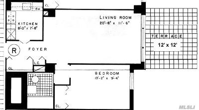 Briarwood Rental For Rent: 85-15 Main St #1R