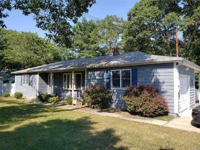 Nesconset Single Family Home For Sale: 463 Gibbs Pond Rd