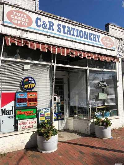 Island Park, Long Beach, Lynbrook, Oceanside, Rockville Centre Business Opportunity For Sale: 148 Union Ave
